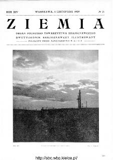 Ziemia : dwutygodnik krajoznawczy ilustrowany 1929, R.XIV, nr 21