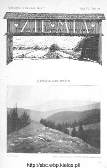 Ziemia : dwutygodnik krajoznawczy ilustrowany 1913, R.IV, nr 45