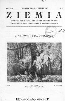 Ziemia : dwutygodnik krajoznawczy ilustrowany 1927, R.XII, nr 2