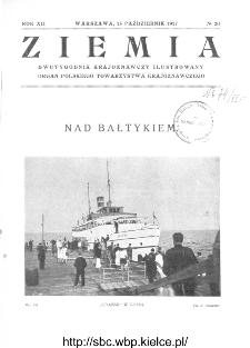 Ziemia : dwutygodnik krajoznawczy ilustrowany 1927, R.XII, nr 20