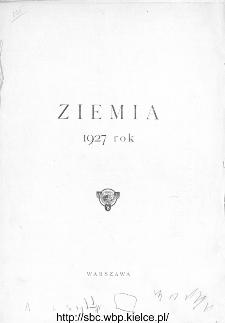 Treść Ziemi w roku 1927