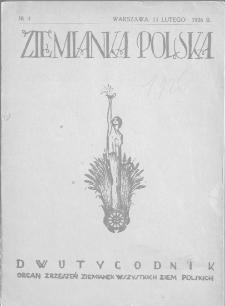 Ziemianka Polska : organ zrzeszeń ziemianek wszystkich ziem polskich 1926, nr 4