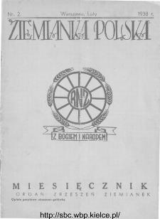 Ziemianka Polska : organ zrzeszeń ziemianek wszystkich ziem polskich 1938, nr 2