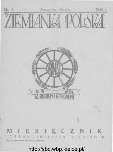 Ziemianka Polska : organ zrzeszeń ziemianek wszystkich ziem polskich 1938, nr 3