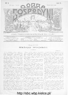 Dobra Gospodyni : pismo ilustrowane dla kobiet 1904, R.IV, nr 3