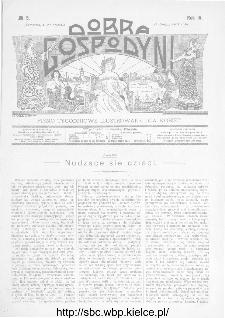 Dobra Gospodyni : pismo ilustrowane dla kobiet 1904, R.IV, nr 5