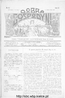 Dobra Gospodyni : pismo ilustrowane dla kobiet 1904, R.IV, nr 10