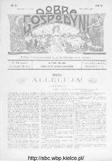 Dobra Gospodyni : pismo ilustrowane dla kobiet 1904, R.IV, nr 13