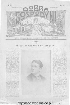 Dobra Gospodyni : pismo ilustrowane dla kobiet 1904, R.IV, nr 20