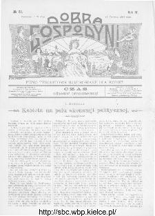 Dobra Gospodyni : pismo ilustrowane dla kobiet 1904, R.IV, nr 22