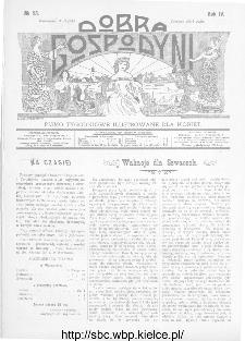Dobra Gospodyni : pismo ilustrowane dla kobiet 1904, R.IV, nr 25