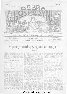 Dobra Gospodyni : pismo ilustrowane dla kobiet 1904, R.IV, nr 28