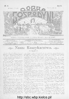 Dobra Gospodyni : pismo ilustrowane dla kobiet 1904, R.IV, nr 34