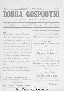 Dobra Gospodyni : pismo ilustrowane dla kobiet 1904, R.IV, nr 39