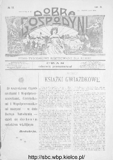 Dobra Gospodyni : pismo ilustrowane dla kobiet 1904, R.IV, nr 51