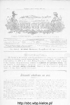 Dobra Gospodyni : pismo ilustrowane dla kobiet 1907, R.VII, nr 4