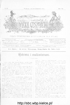 Dobra Gospodyni : pismo ilustrowane dla kobiet 1907, R.VII, nr 8