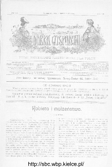 Dobra Gospodyni : pismo ilustrowane dla kobiet 1907, R.VII, nr 10