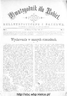 Dwutygodnik dla Kobiet : pismo beletrystyczne i naukowe, R.1, 1881, nr 11