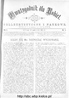 Dwutygodnik dla Kobiet : pismo beletrystyczne i naukowe, R.2, 1881, nr 3