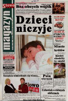 Słowo Ludu 1999 R.L, nr 82 (magazyn)