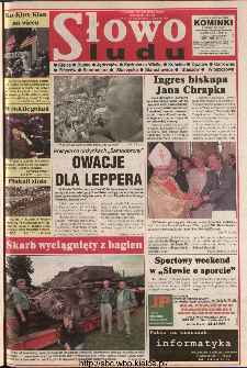 Słowo Ludu 1999 R.L, nr 195