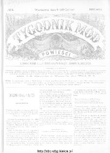 Tygodnik Mód i Powieści : z dodatkiem illustrowanym ubrań i robót kobiecych 1886, nr 8