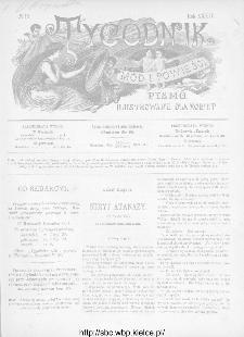 Tygodnik Mód i Powieści : z dodatkiem illustrowanym ubrań i robót kobiecych 1892, R.XXXIV, nr 13