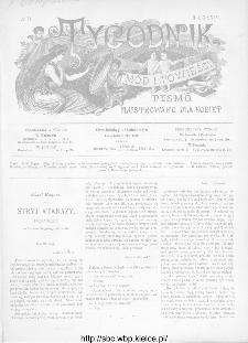 Tygodnik Mód i Powieści : z dodatkiem illustrowanym ubrań i robót kobiecych 1892, R.XXXIV, nr 16