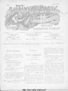 Tygodnik Mód i Powieści : z dodatkiem illustrowanym ubrań i robót kobiecych 1892, R.XXXIV, nr 24