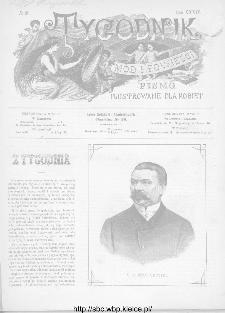 Tygodnik Mód i Powieści : z dodatkiem illustrowanym ubrań i robót kobiecych 1892, R.XXXIV, nr 28