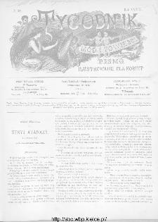 Tygodnik Mód i Powieści : z dodatkiem illustrowanym ubrań i robót kobiecych 1892, R.XXXIV, nr 30
