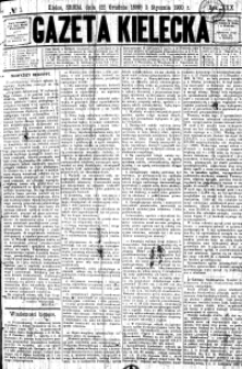 Gazeta Kielecka, 1900, R.31, nr 1