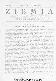 Ziemia : dwutygodnik krajoznawczy ilustrowany 1930, R.XV, nr 2