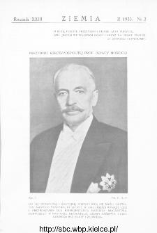 Ziemia : dwutygodnik krajoznawczy ilustrowany 1933, R.XXIII, nr 2