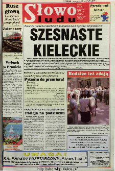 Słowo Ludu 1998 R.LVIII, nr 143