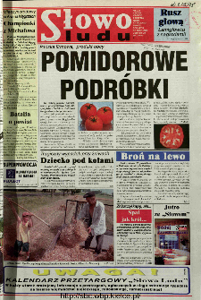 Słowo Ludu 1998 R.LVIII, nr 179