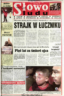 Słowo Ludu 1998 R.LVIII, nr 289 (Radom(...)Zwoleń)