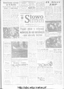 Słowo Ludu : organ Komitetu Wojewódzkiego Polskiej Zjednoczonej Partii Robotniczej, 1973, R.XXIV, nr 259