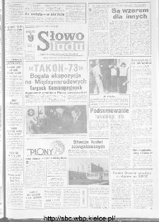 Słowo Ludu : organ Komitetu Wojewódzkiego Polskiej Zjednoczonej Partii Robotniczej, 1973, R.XXIV, nr 267