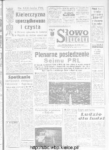 Słowo Ludu : organ Komitetu Wojewódzkiego Polskiej Zjednoczonej Partii Robotniczej, 1973, R.XXIV, nr 271