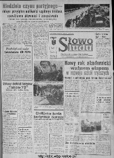 Słowo Ludu : organ Komitetu Wojewódzkiego Polskiej Zjednoczonej Partii Robotniczej, 1973, R.XXIV, nr 274