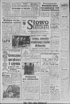 Słowo Ludu : organ Komitetu Wojewódzkiego Polskiej Zjednoczonej Partii Robotniczej, 1973, R.XXIV, nr 276