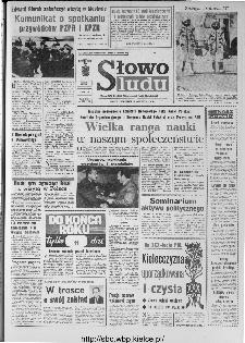 Słowo Ludu : organ Komitetu Wojewódzkiego Polskiej Zjednoczonej Partii Robotniczej, 1973, R.XXIV, nr 354