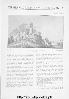 Ziemia : ilustrowany miesięcznik 1934, R.XXIV, nr 12