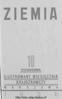 Ziemia : ilustrowany miesięcznik krajoznawczy 1935, R.XXV, nr 10