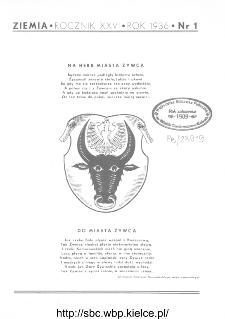 Ziemia : ilustrowany miesięcznik krajoznawczy 1936, R.XXVI, nr 1