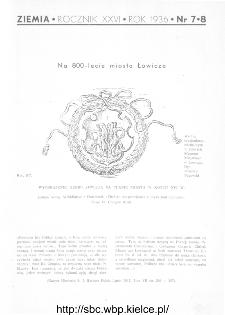 Ziemia : ilustrowany miesięcznik krajoznawczy 1936, R.XXVI, nr 7-8