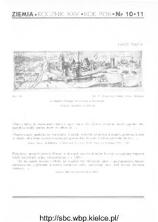 Ziemia : ilustrowany miesięcznik krajoznawczy 1936, R.XXVI, nr 10-11