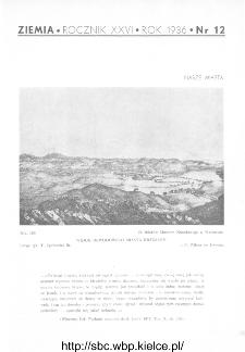 Ziemia : ilustrowany miesięcznik krajoznawczy 1936, R.XXVI, nr 12